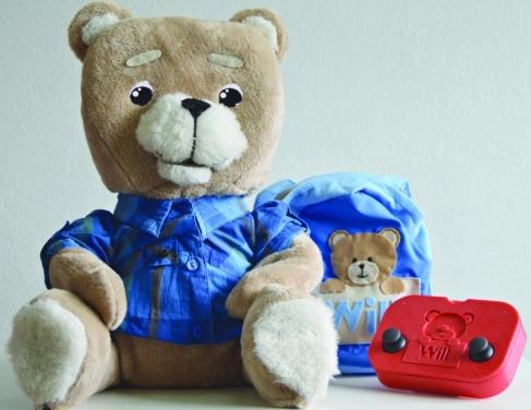 Ursinho auxilia a comunicação da criança
