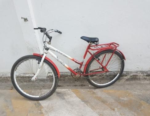 Bicicleta foi usada na tentativa de fuga