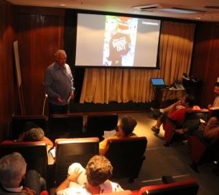 Peter Lamers apresentou filme