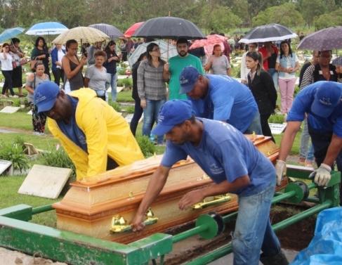 Maria Luíza foi sepultada no Campo da Paz