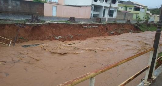 Chuva em Cambuci (Foto: Divulgação)
