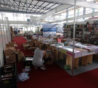 Preparação para a 10ª Bienal do Livro de Campos
