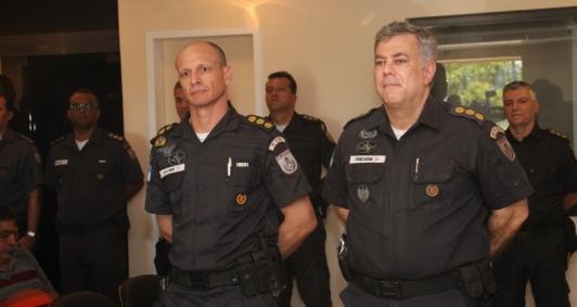 Marco Aurélio Vollmer  (esquerda) e Friederik Bassani (direita)