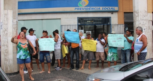 Protesto de pescadores