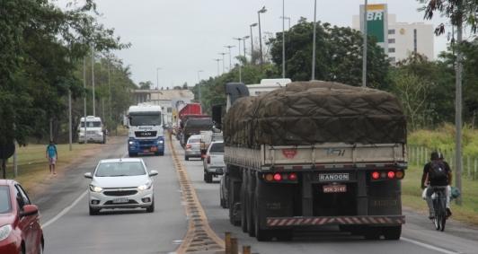 Intenção do novo contorno é desafogar o tráfego de veículos que passam pelo trecho urbano da BR 101
