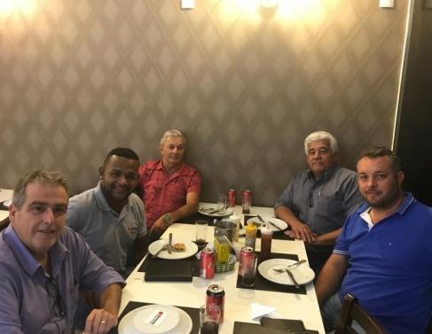 Ronaldo Pré (ex-gerente do Ceasa de Ponto Pergunta, em Itaoca), Paulo Ricardo Titito (ex-Ceasa do Rio e Nova Friburgo), Maurício  Nani e Alfredo Dieguez (ambos Agricultura) e Nildo Cardoso