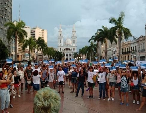 Movimentum, em ato pelo 1 ano da morte de Marielle Franco e Anderson Gomes