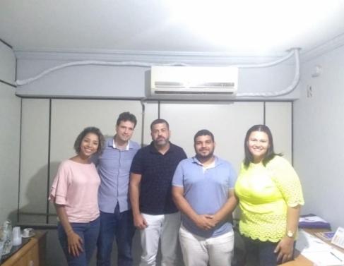 Equipe da secretaria de Trabalho e Desenvolvimento de SFI