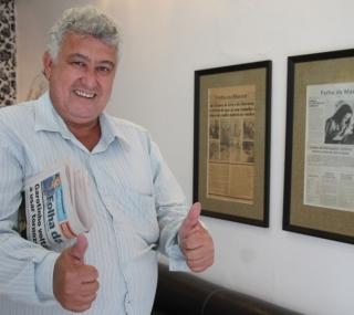 Fred Lima vendia jornais no Centro de Campos