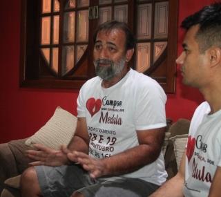 Carlos Vitor e Falconiere em Campos