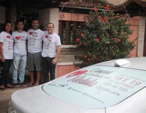 Andrea, Falconiere, Carlos Vitor e Fernando