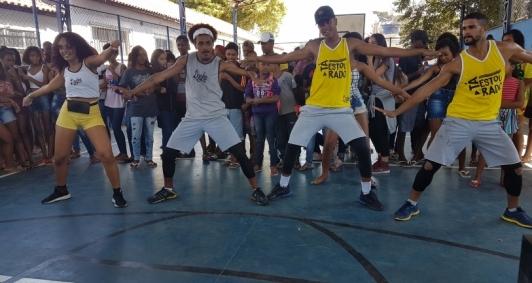 Ragha na Escola (Foto: Joseli Matias)