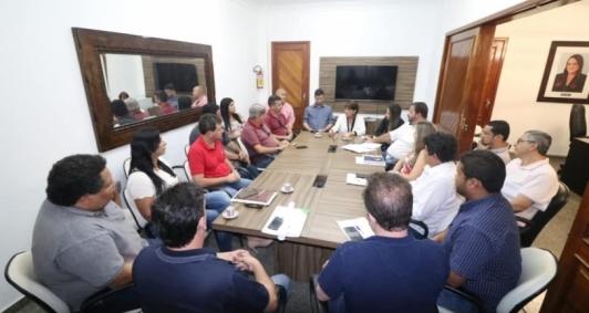 Carla Machado reuniu secretários para tratar o assunto na última quarta