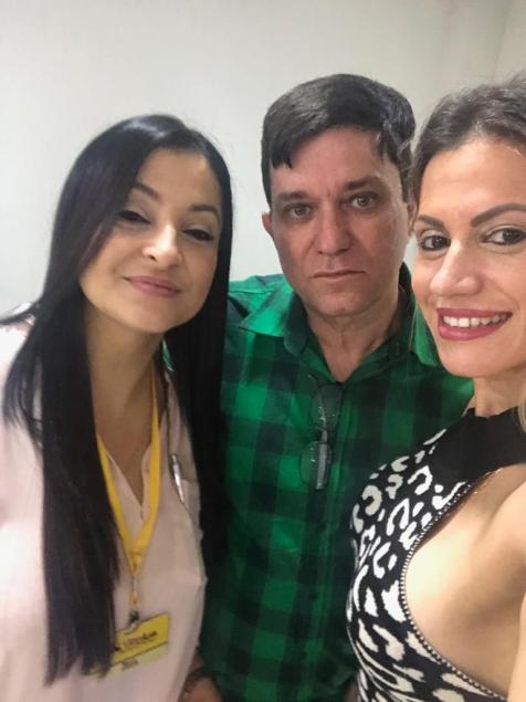 Rose, Oswaldo Miranda e Luma Marques