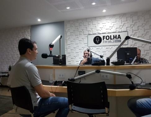 João Paulo Granja no Folha no Ar