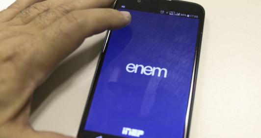 Aplicativo de celular Enem