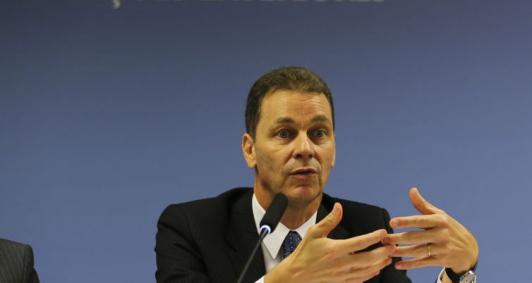 O secretário de Negociações Bilaterais na Ásia, Pacífico e Rússia, do MRE, embaixador Reinaldo José de Almeida Salgado