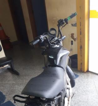 moto apreendido em SJB