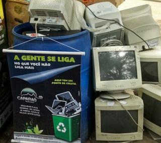 Em parceria com empresa especializada, Prefeitura recebe lixo eletrônico