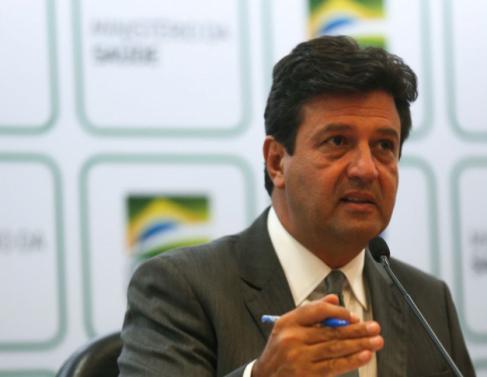 O ministro da Saúde, Luiz Henrique Mandetta
