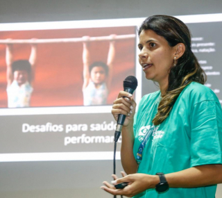 Coordenadora médica do COB, Ana Carolina Côrte