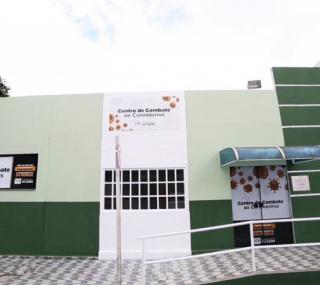 Centro de Combate ao Coronavírus em SJB