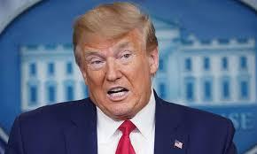 Donad Trump - presidente norte-americano acusa a OMS de proximidade com a China no combate ao coronavírus