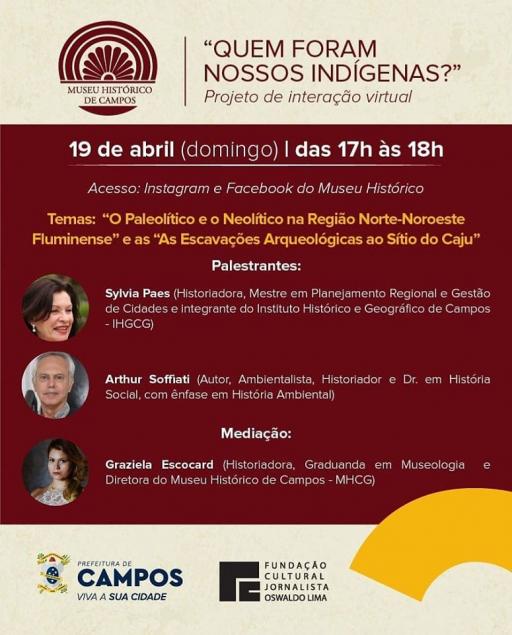 Cartaz de divulgação do evento