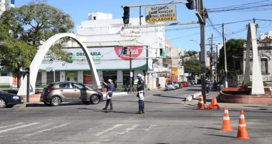 Lockdown em Campos (Fotos: Rodrigo Silveira)
