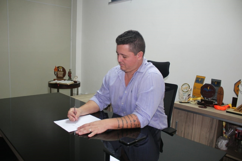 Coordenador do projeto Paraesporte desde 2017, F�bio Coboski assumiu a presid�ncia da FME ap�s Raphael Thuin deixar o cargo