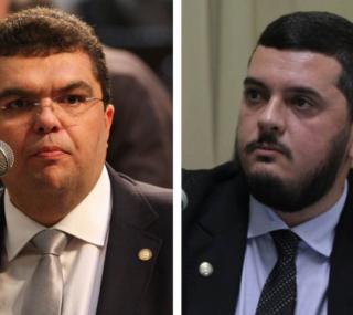 Chico Machado e Rodrigo Bacellar