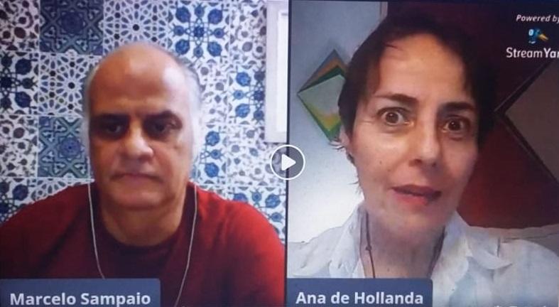 Ana de Hollanda foi entrevistada por Marcelo Sampaio na segunda-feira