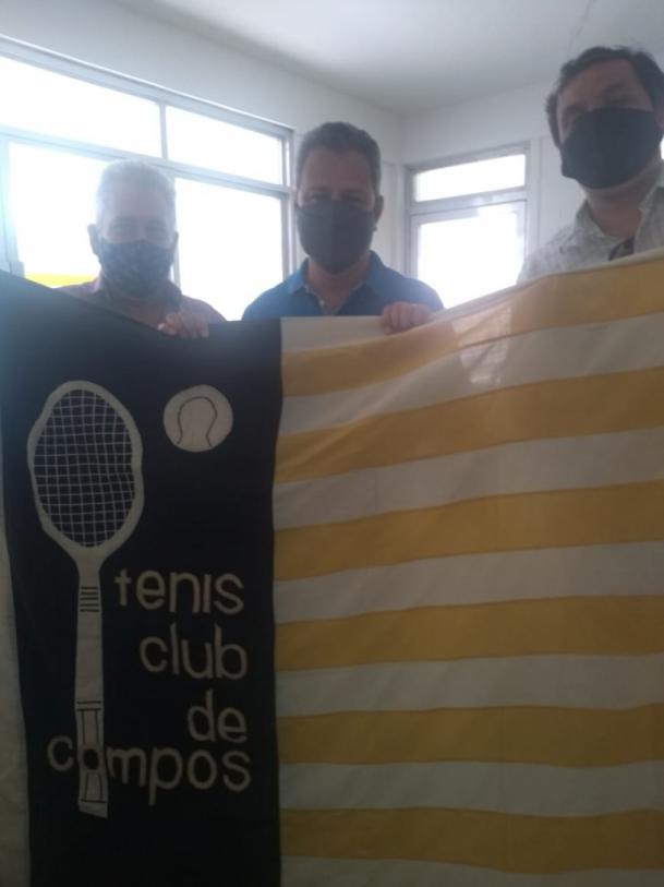 Parceria da Equipe Reis com o Tênis Club foi retomada neste mês