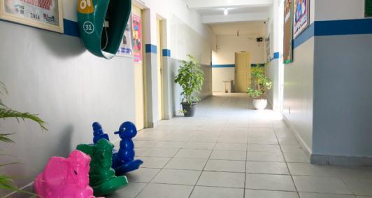 Unidade escolar reformada