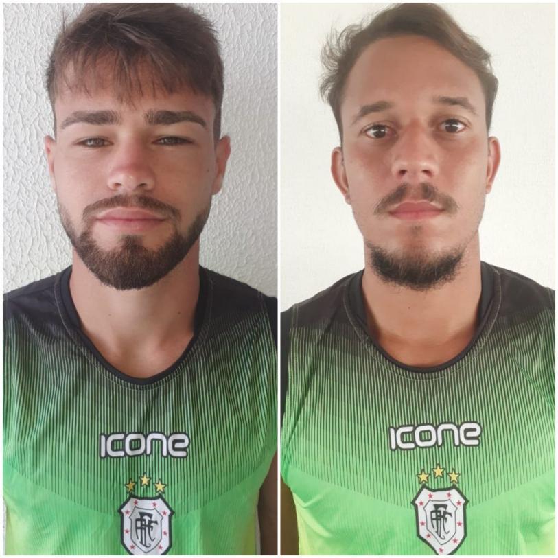 Pepeu e Jordan já treinam no novo clube