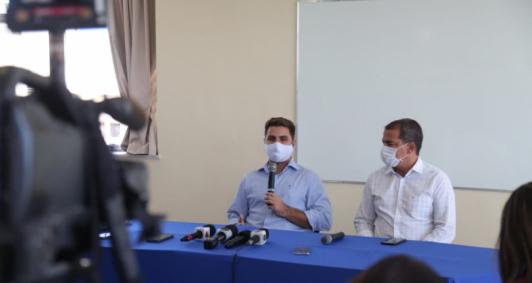 Wladimir Garotinho e Frederico Paes anunciam ações de governo