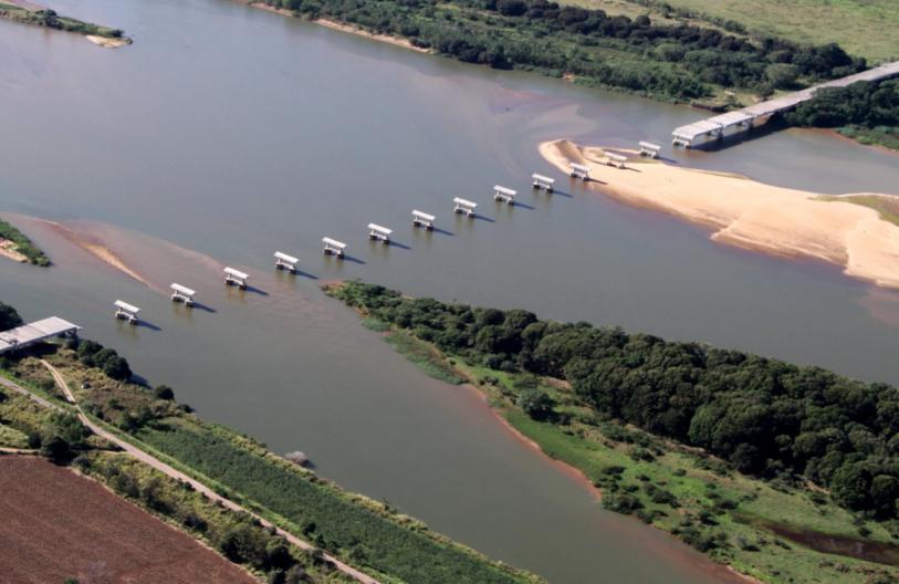 Obras ponte da Integração estão paradas desde 2018