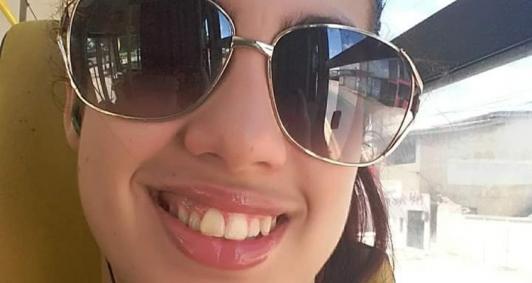 Estudante Paola Rangel de Brito