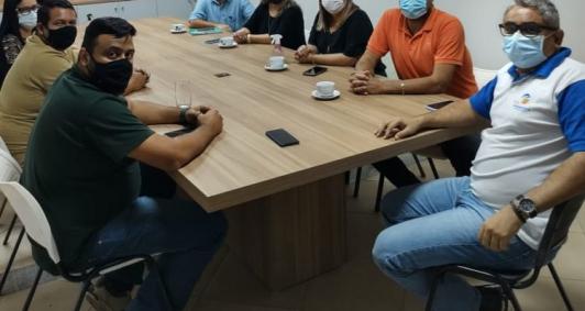 Prefeita de SFI se reúne com diretor da Canabrava