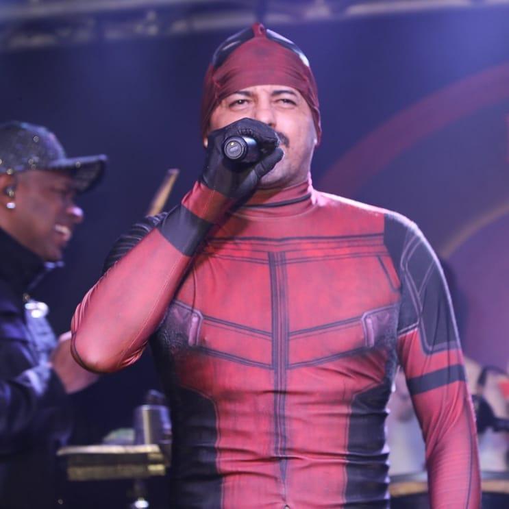 Ronaldo Lopes, o Deadpool Pagodeiro