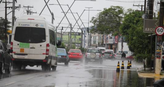 Chuva em Campos (Fotos: Genilson Pessanha)
