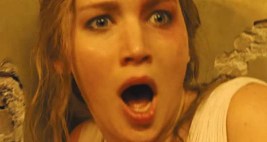 Atriz Jennifer Lawrence em cena de ENTITY_quot_ENTITYMãeENTITY_quot_ENTITY