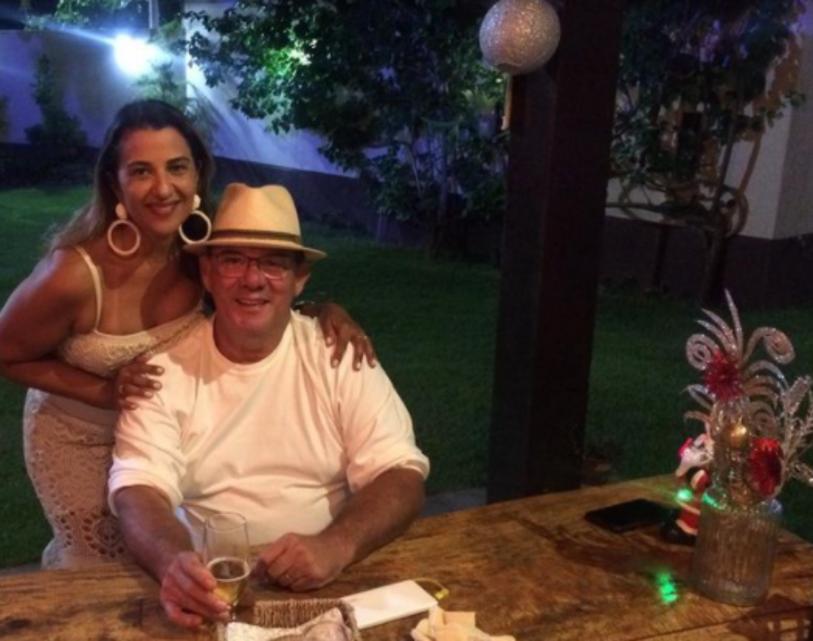 Adriana e Carlinhos Cunha em noite de virada de ano 2019-2020!