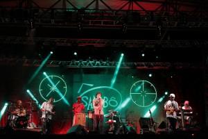 Sambô se apresenta pela primeira vez no Balneário de Atafona no dia 8 de fevereiro