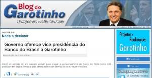 Reprodução/Blog do Garotinho