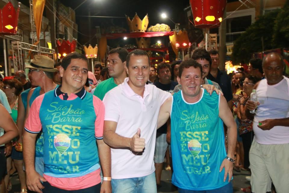 Neco e Alexandre juntos no Carnaval 2014. Cena não se repetiu em 2015. Foto: Paulo Pinheiro