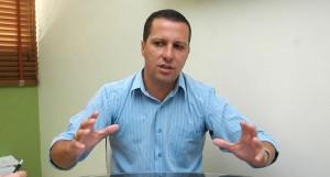 Vice-prefeito não caminha no mesmo grupo de Neco. Foto: Reprodução