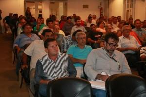 Na semana passada, Neco esteve reunido com empresários para  palestras de incentivo nas áreas cultural e esportiva