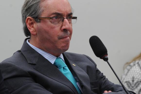 """Presidente da Câmara aparece como """"carrasco"""" do Planalto. Foto: Agência Brasil"""