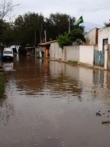 Localidade da Baixada, em Atafona. Foto: Alanir Loureiro / Reprodução Facebook